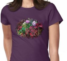 Garden Harmony Womens Fitted T-Shirt