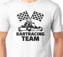 Kart racing team Unisex T-Shirt