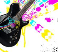 CMY Rock Sticker