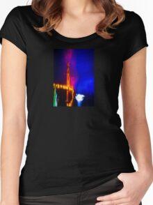 Golden Gate Bridge Fantasy Cruise Women's Fitted Scoop T-Shirt