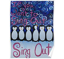 Sing Out Poster