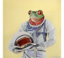 Frog Mission Photographic Print