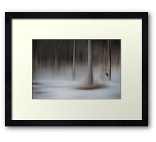 The Winter Warming Framed Print
