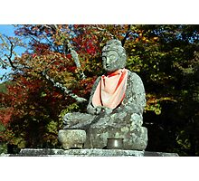 Meditating Buddha Photographic Print