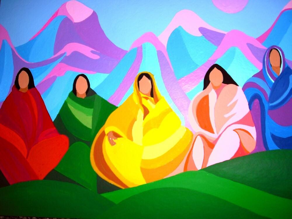 Ladies of the Community by Jamie Winter-Schira