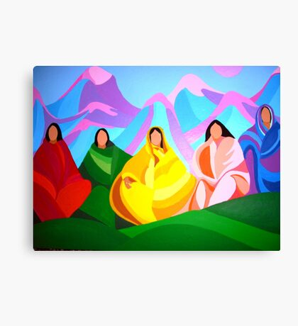 Ladies of the Community Canvas Print