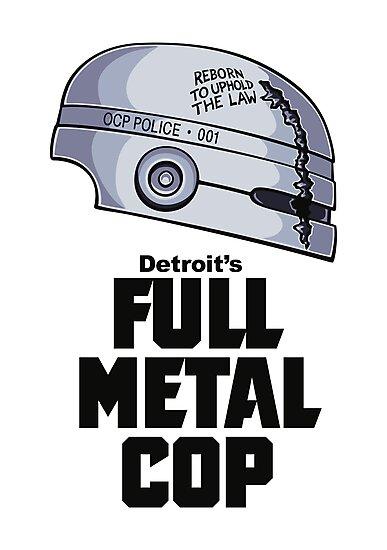 Full Metal Cop by DoodleDojo