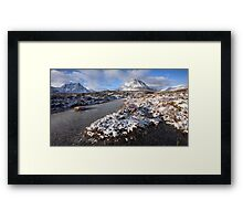 Winter Landscape...Glencoe. Framed Print