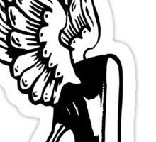 ShoeFly (Winged Victory on Heels) Sticker