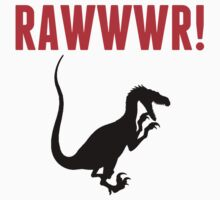 Rawwwr Dinosaur One Piece - Short Sleeve