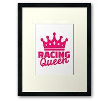 Racing queen Framed Print
