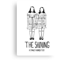 Stanley Kubrick's Twins Canvas Print