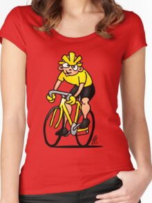 Cyclist - Cycling Women's Fitted Scoop T-Shirt