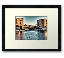 Albert Dock - Liverpool UK England Framed Print