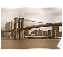Brooklyn Bridge NYC Poster
