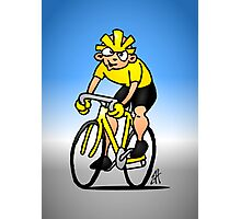 Cyclist - Cycling Photographic Print
