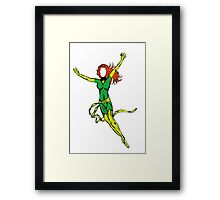Rising from the ash Framed Print