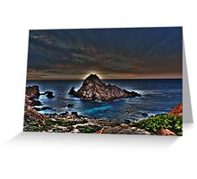Sugarloaf Rock Greeting Card