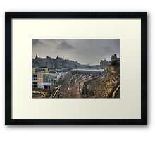 Between Old and New Framed Print