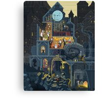 Scene #25: 'The Clock Tower' Canvas Print