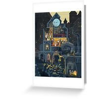 Scene #25: 'The Clock Tower' Greeting Card