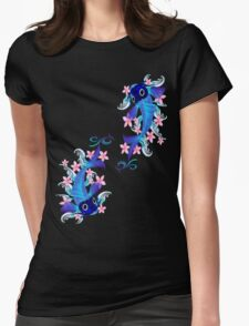 Two Blue Koi Womens Fitted T-Shirt