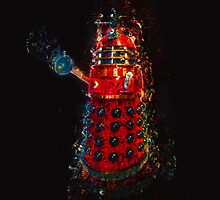 Dalek Fractal Flame, digital painting by Moonlake