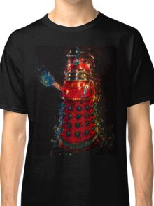 Dalek Fractal Flame, digital painting Classic T-Shirt