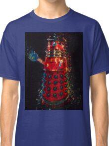 Dalek Fractal Flame, digital painting Classic T-Shirt