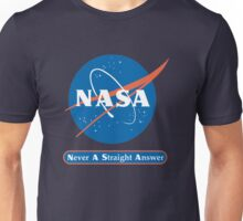 NASA Never A Straight Answer Unisex T-Shirt