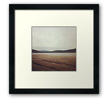From the Deck Framed Print