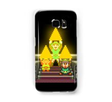 Link Evolution with Triforce Samsung Galaxy Case/Skin
