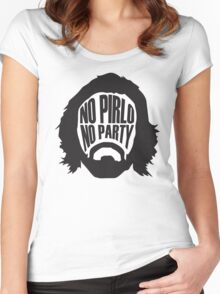No Pirlo, No Party Women's Fitted Scoop T-Shirt