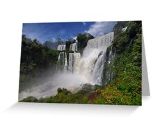 Three Falls Greeting Card