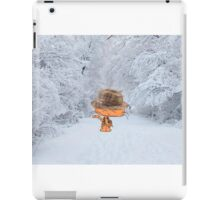 Cat Enjoying The Crisp Winter Air iPad Case/Skin
