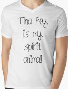Tina Fey is my spirit animal Mens V-Neck T-Shirt