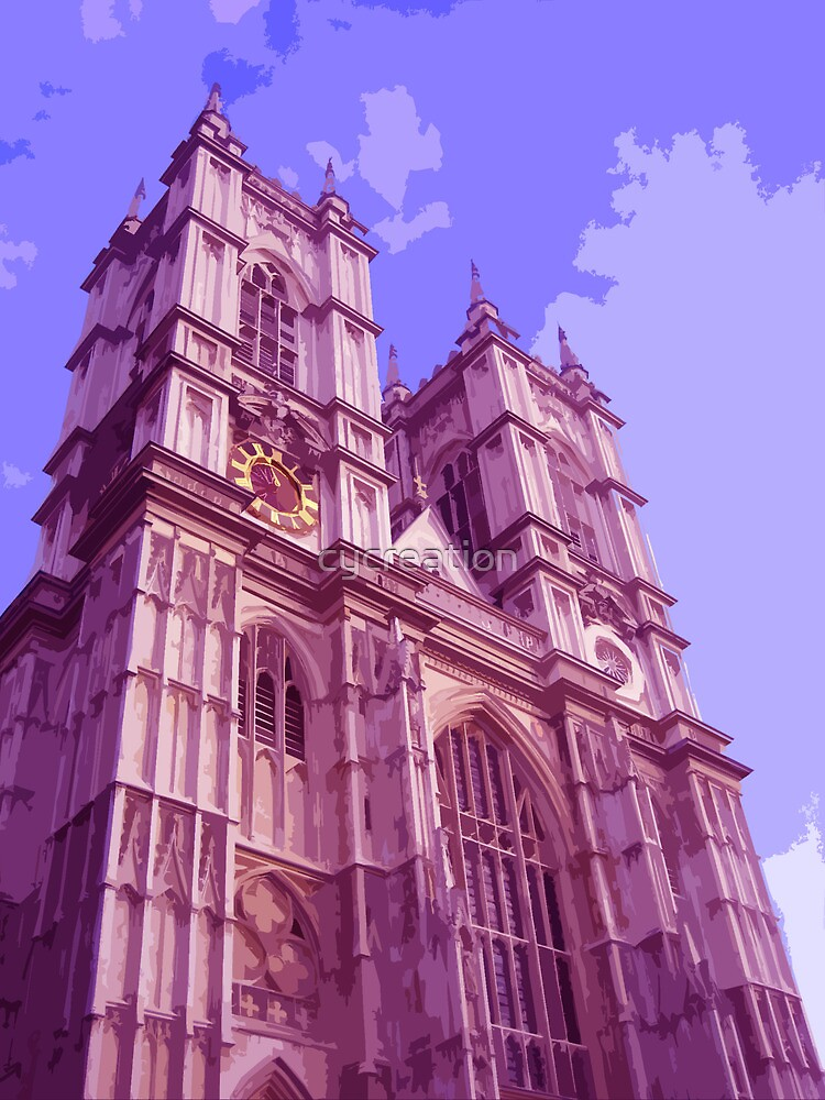 Westminster Abbey, London by cycreation