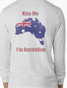 Kiss Me I'm Australian Long Sleeve T-Shirt