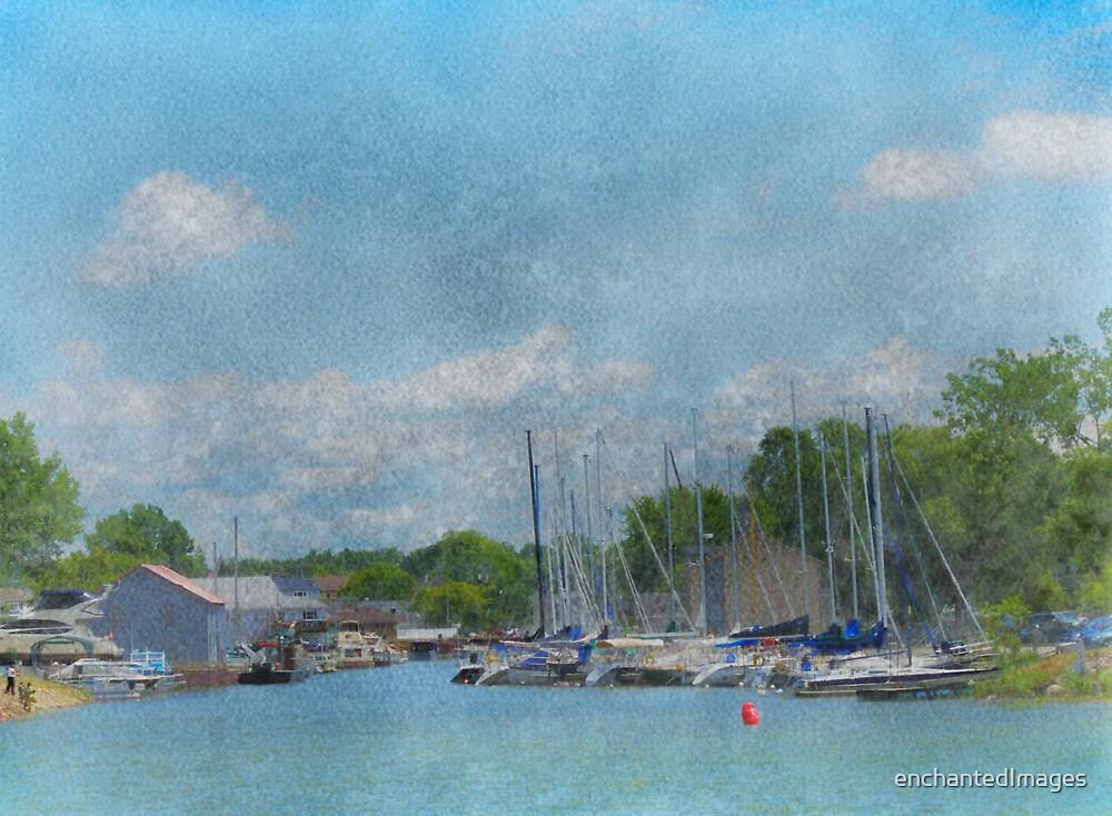 Caseville Marina by enchantedImages