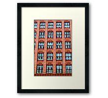 Reflections in Terra Cotta Framed Print
