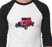 1930 Ford Model A Coupe Men's Baseball ¾ T-Shirt