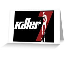 Killer7 Greeting Card
