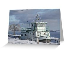 Imprisoned by Ice!!! Greeting Card