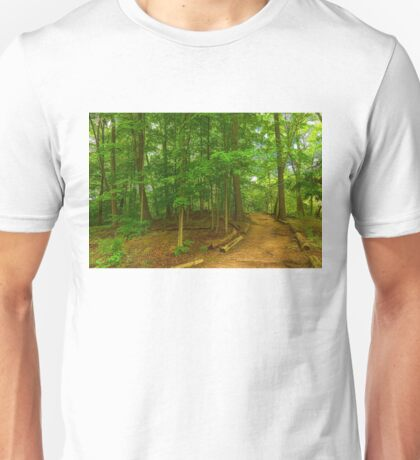Peaceful Green Trees - Impressions of Forests Unisex T-Shirt