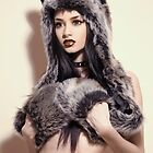 Grey Wolf II by Felice Fawn