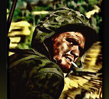 The Marine by Richard  Gerhard
