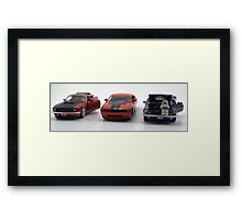 Day 43 of 365 The Race Day Framed Print