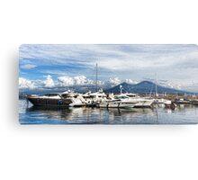 Vesuvius and Naples Harbor - Mediterranean Impressions Metal Print