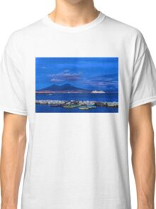 Blue Night in Naples - Mediterranean Impressions Classic T-Shirt