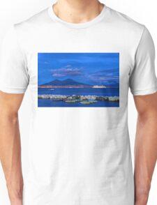 Blue Night in Naples - Mediterranean Impressions Unisex T-Shirt